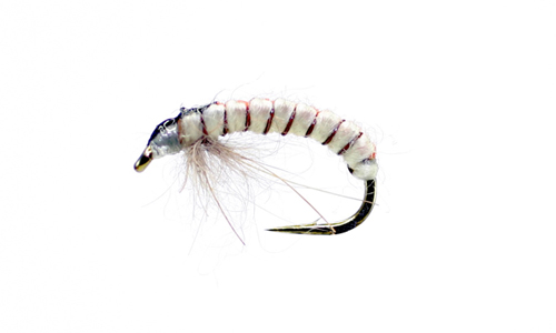 Simply Flies Czech Nymph Red/Cream