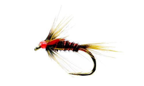 Simply Flies Cruncher Red JC