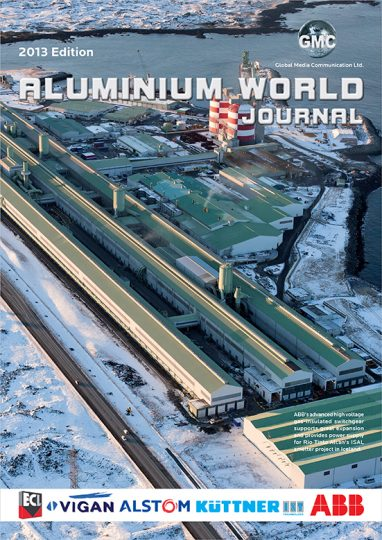 aluminium world journal 2013
